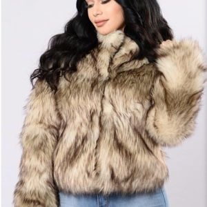 Fashion Nova Jackets & Coats - Fur Jacket